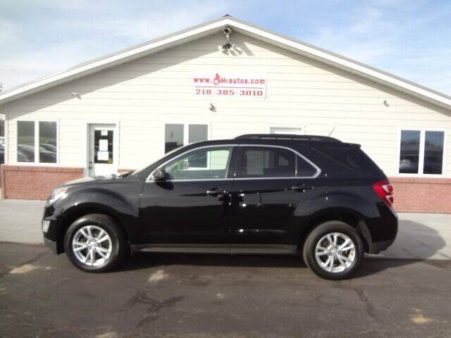 2016 Chevrolet Equinox for sale at GIBB'S 10 SALES LLC in New York Mills MN