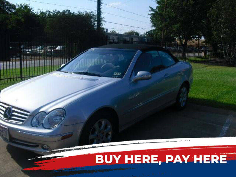 2004 Mercedes-Benz CLK for sale at German Exclusive Inc in Dallas TX