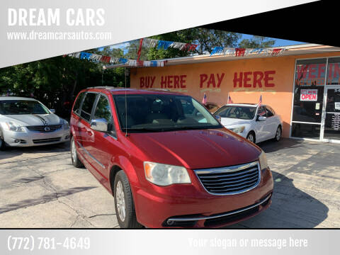 2011 Chrysler Town and Country for sale at DREAM CARS in Stuart FL