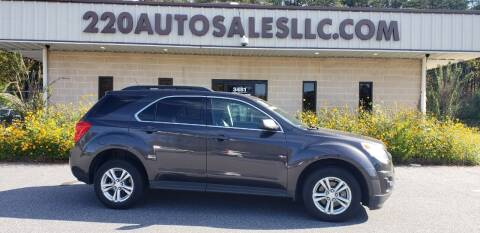 2013 Chevrolet Equinox for sale at 220 Auto Sales LLC in Madison NC