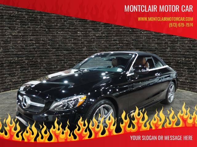 2017 Mercedes-Benz C-Class for sale at Montclair Motor Car in Montclair NJ