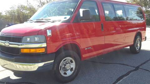 2005 Chevrolet Express Passenger for sale at Jan Auto Sales LLC in Parsippany NJ