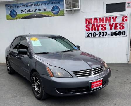 2006 Mitsubishi Lancer for sale at Manny G Motors in San Antonio TX