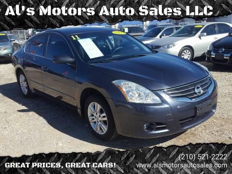 2011 Nissan Altima for sale at Al's Motors Auto Sales LLC in San Antonio TX