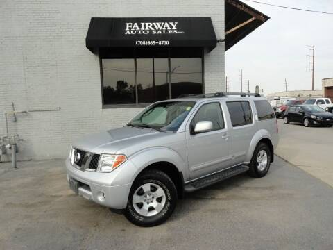 2006 Nissan Pathfinder for sale at FAIRWAY AUTO SALES, INC. in Melrose Park IL