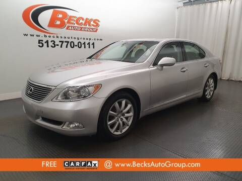 2007 Lexus LS 460 for sale at Becks Auto Group in Mason OH