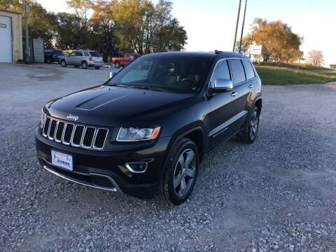 2015 Jeep Grand Cherokee for sale at Schrier Auto Body & Restoration in Cumberland IA