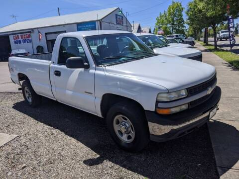 1999 Chevrolet Silverado 1500 for sale at M AND S CAR SALES LLC in Independence OR