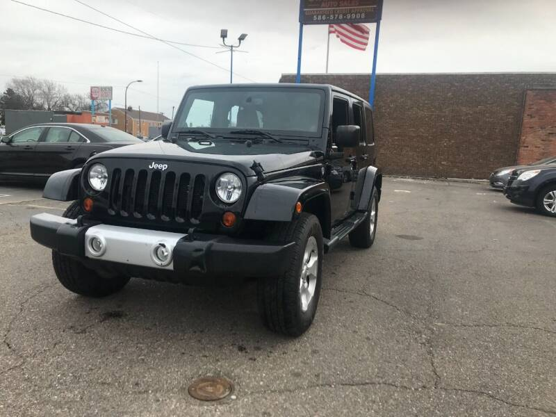 2013 Jeep Wrangler Unlimited for sale at GREAT DEAL AUTO SALES in Center Line MI