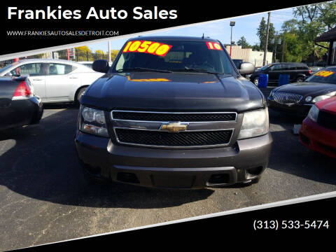 2010 Chevrolet Suburban for sale at Frankies Auto Sales in Detroit MI