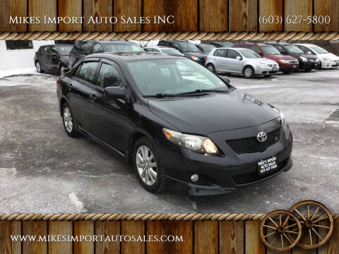 2010 Toyota Corolla for sale at Mikes Import Auto Sales INC in Hooksett NH