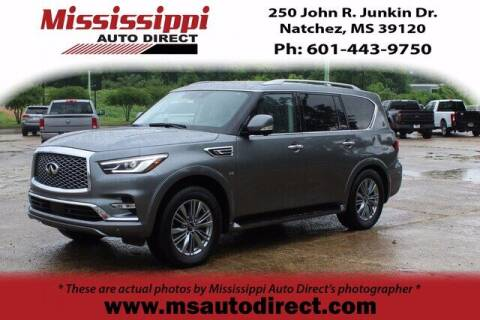 2020 Infiniti QX80 for sale at Auto Group South - Mississippi Auto Direct in Natchez MS