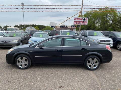 2008 Saturn Aura for sale at Affordable 4 All Auto Sales in Elk River MN