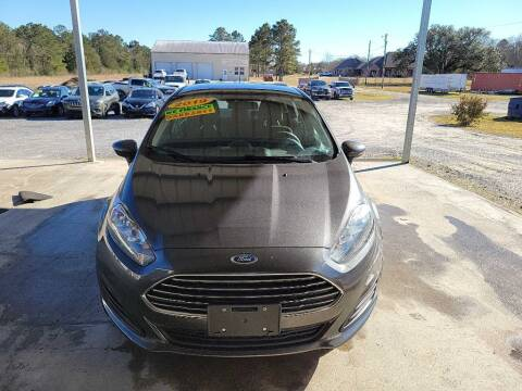2019 Ford Fiesta for sale at Auto Guarantee, LLC in Eunice LA