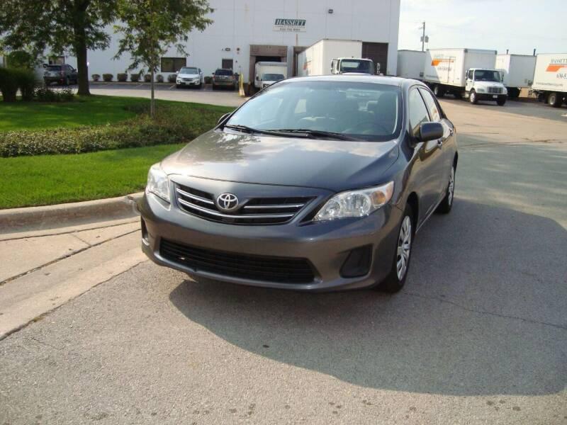 2013 Toyota Corolla for sale at ARIANA MOTORS INC in Addison IL
