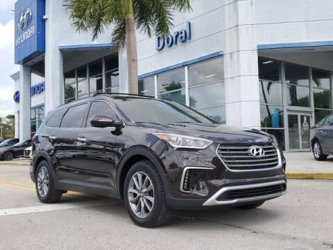 2017 Hyundai Santa Fe for sale at DORAL HYUNDAI in Doral FL