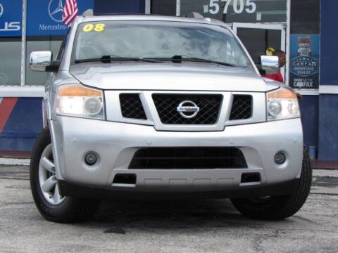 2008 Nissan Armada for sale at VIP AUTO ENTERPRISE INC. in Orlando FL