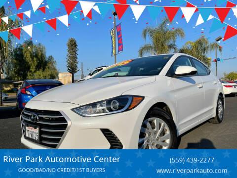 2017 Hyundai Elantra for sale at River Park Automotive Center in Fresno CA