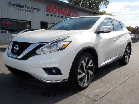 2015 Nissan Murano for sale at Roberti Automotive in Kingston NY