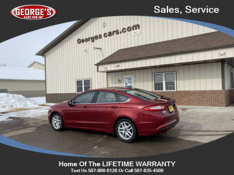 2014 Ford Fusion for sale at GEORGE'S CARS.COM INC in Waseca MN