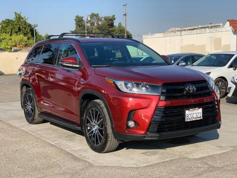 2017 Toyota Highlander for sale at H & K Auto Sales & Leasing in San Jose CA