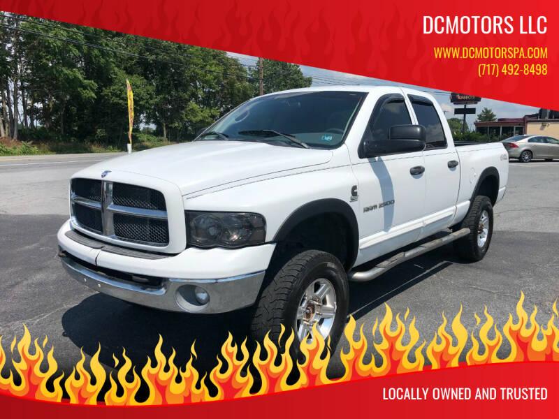 2003 Dodge Ram Pickup 2500 for sale at DCMotors LLC in Mount Joy PA