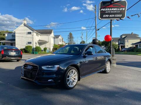 2015 Audi A4 for sale at Passariello's Auto Sales LLC in Old Forge PA