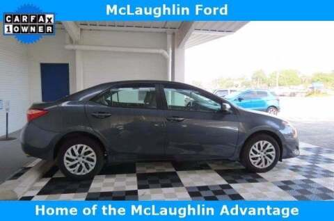 2019 Toyota Corolla for sale at McLaughlin Ford in Sumter SC