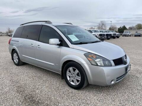 2006 Nissan Quest for sale at BERKENKOTTER MOTORS in Brighton CO