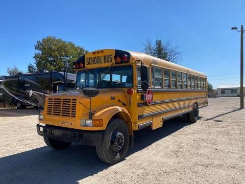 2001 International Thomas School Bus for sale at Western Mountain Bus & Auto Sales - Buses & Service in Nampa ID