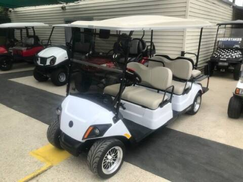 2021 Yamaha Concierge 6 Passenger Gas for sale at METRO GOLF CARS INC in Fort Worth TX