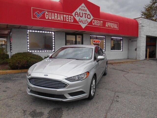 2017 Ford Fusion for sale at Oak Park Auto Sales in Oak Park MI