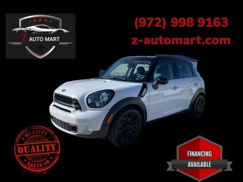 2015 MINI Countryman for sale at Z AUTO MART in Lewisville TX