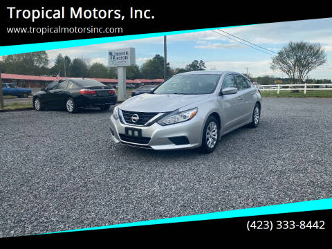 2016 Nissan Altima for sale at Tropical Motors, Inc. in Riceville TN