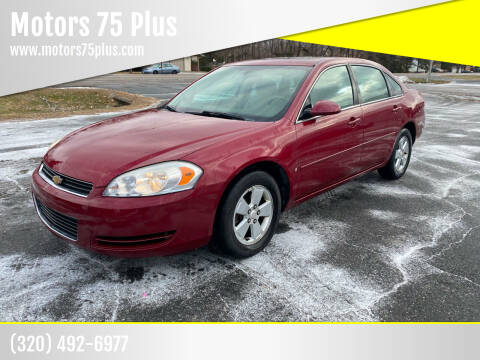 2006 Chevrolet Impala for sale at Motors 75 Plus in Saint Cloud MN