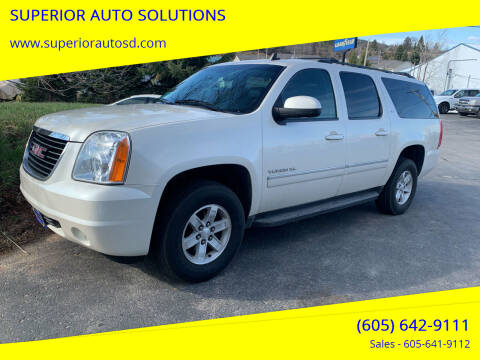 2013 GMC Yukon XL for sale at SUPERIOR AUTO SOLUTIONS in Spearfish SD