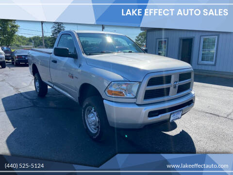 2012 RAM Ram Pickup 2500 for sale at Lake Effect Auto Sales in Chardon OH