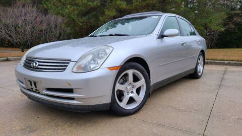 2003 Infiniti G35 for sale at Global Imports Auto Sales in Buford GA