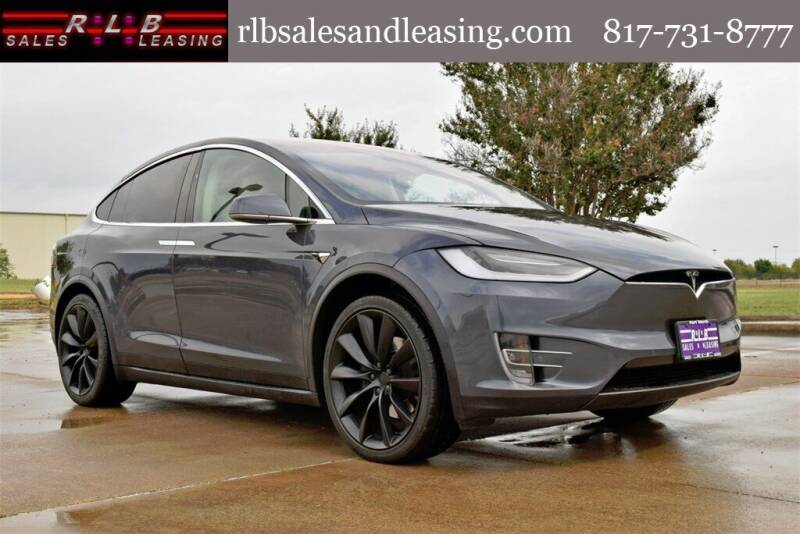 2018 Tesla Model X for sale at RLB Sales and Leasing in Fort Worth TX