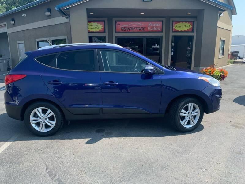 2012 Hyundai Tucson for sale at Advantage Auto Sales in Garden City ID