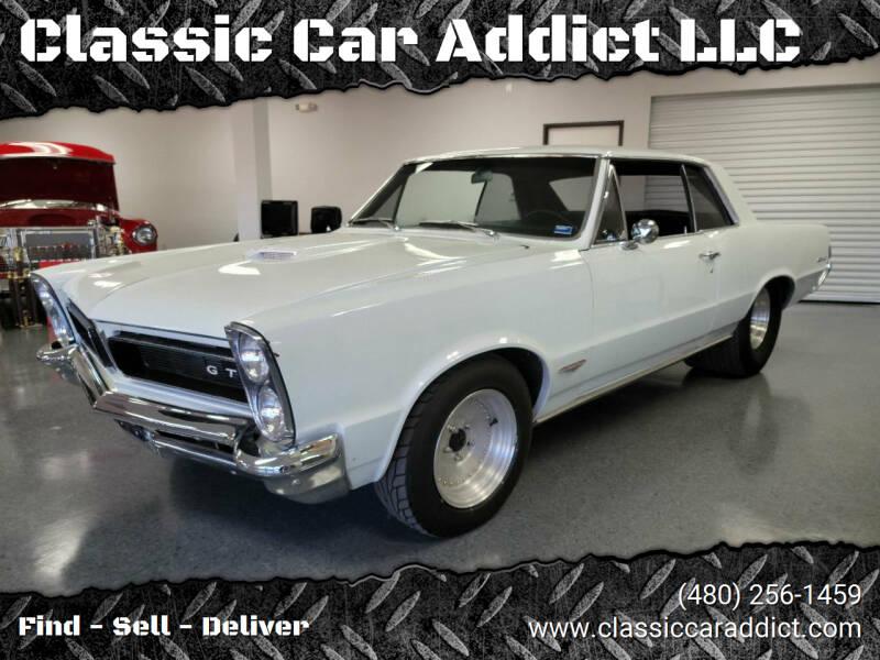 1965 Pontiac GTO for sale at Classic Car Addict in Mesa AZ