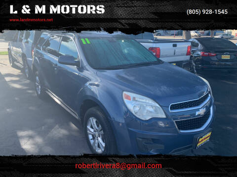 2011 Chevrolet Equinox for sale at L & M MOTORS in Santa Maria CA