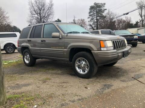 1996 Jeep Grand Cherokee for sale at AFFORDABLE USED CARS in Richmond VA