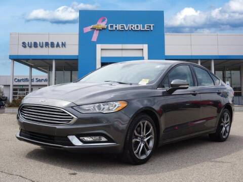 2017 Ford Fusion for sale at Suburban Chevrolet of Ann Arbor in Ann Arbor MI