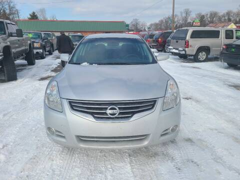 2012 Nissan Altima for sale at Johnny's Motor Cars in Toledo OH