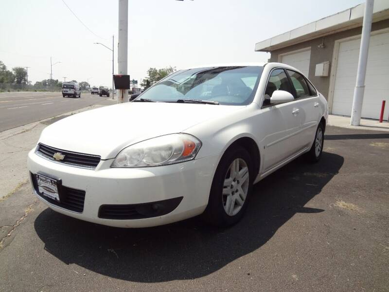 2007 Chevrolet Impala for sale at FINISH LINE AUTO SALES in Idaho Falls ID