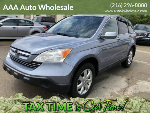 2007 Honda CR-V for sale at AAA Auto Wholesale in Parma OH