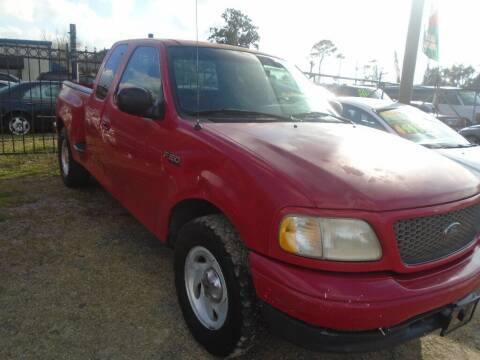2000 Ford F-150 for sale at SCOTT HARRISON MOTOR CO in Houston TX