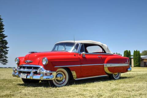 1953 Chevrolet Bel Air for sale at Hooked On Classics in Watertown MN