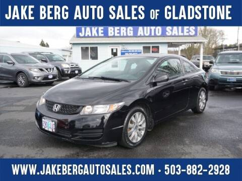 2009 Honda Civic for sale at Jake Berg Auto Sales in Gladstone OR